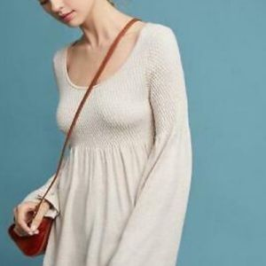 "Anthro ""Esme"" smocked sweater"